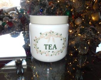 ENGLAND TEA CANISTER