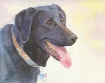 Custom Dog painting, Custom Pet Portrait, Dog Portrait Custom, Christmas Gift, Gift for Her, Gift for Him