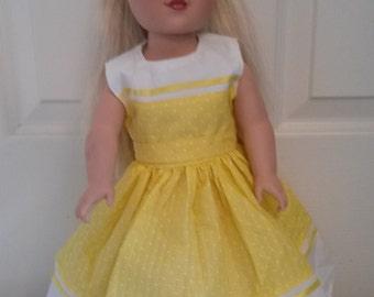 18 inch Girl Doll Dress #48