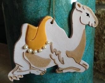 Camel ornament Nativity ornament Christmas Camel ornament
