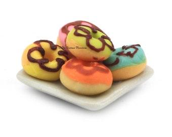 Dolls House Miniature Food-Doughnuts