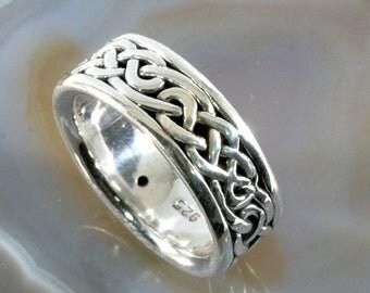 Ring, 925 sterling silver, electroforming - 3106