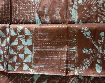 Hand designed Batik Yardage 5 yards
