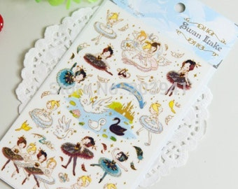 Sticker Salathe / Swan Lake (A 1059)