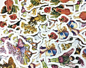 Confetti - Flower Fairies,Party Decor,Birthday,Baby Shower,Table Confetti,Party Confetti,paper embellishments,Die Cuts,Paper Confetti,Faery