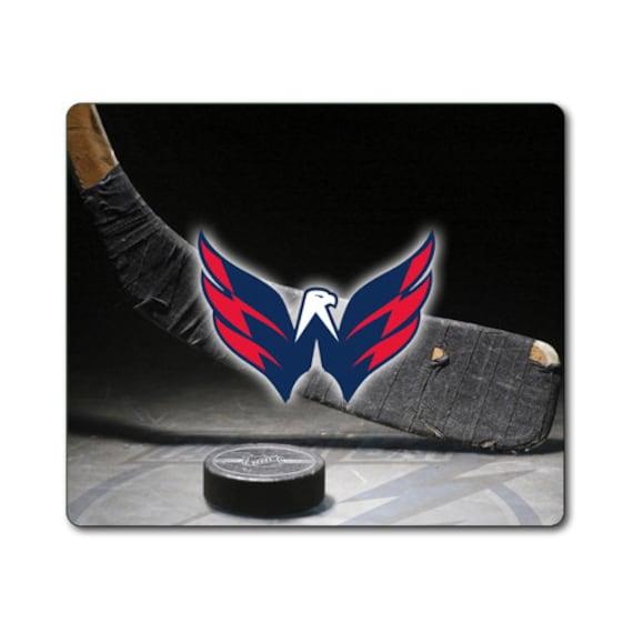 washington capitales hockey grand tapis de souris mouse pad. Black Bedroom Furniture Sets. Home Design Ideas