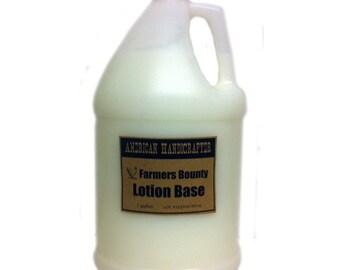 Farmers Bounty Body Lotion, Bulk 1-gallon