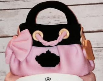 Juicy Couture Purse Cake Topper