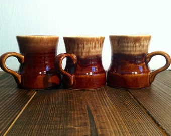 Vintage Drip Glazed Mug Set