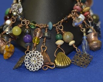 copper junk bracelet