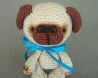 Cute puppy, amigurumi, crochet