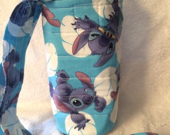 Insulated Water Bottle Holder - Disney Themed - Stitch