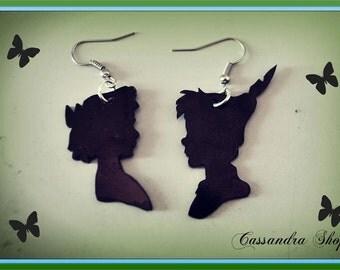 Peter pan and Wendy earrings