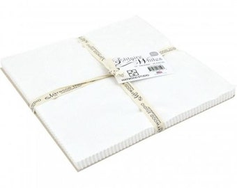 """Solitaire Whites 10"""" Square Packs from Maywood Studio by the pack"""