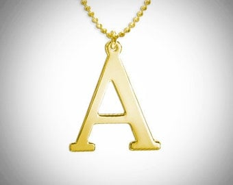 Ana Customizable Initial Necklace / Personalized Initial Necklace / Free shipping