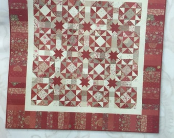 Planted Seed Designs KALEIDOSCOPE OF STARS quilt pattern