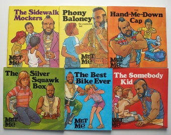 Vintage Lot of Mr. T and Me Books 1985