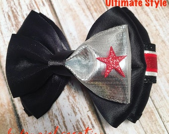 Winter Soldier Bucky Barnes Inspired Bow