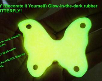 Glow in dark BUTTERFLIES!