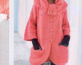 Set manteau avec une main écharpe deux aiguilles / custom