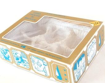Vintage Christmas Ornament Box