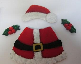 Welcome Bear Santa Suit