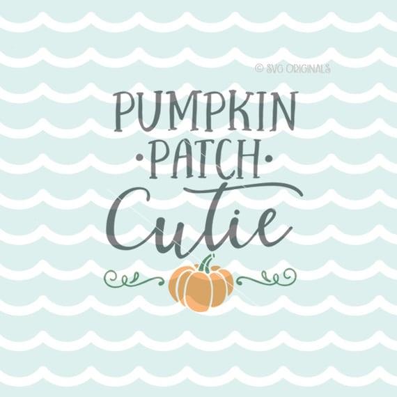 Download Pumpkin Patch Cutie SVG File. Cricut Explore & more. Cut or