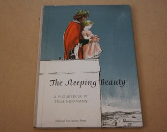 Vintage 1959 - The Sleeping Beauty - Felix Hoffmann- hardcover illustrated childrens book