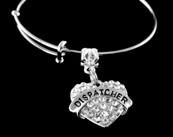 Dispatcher Bracelet Dispatcher charm bracelet Dispatcher Jewelry Dispatch Bracelet