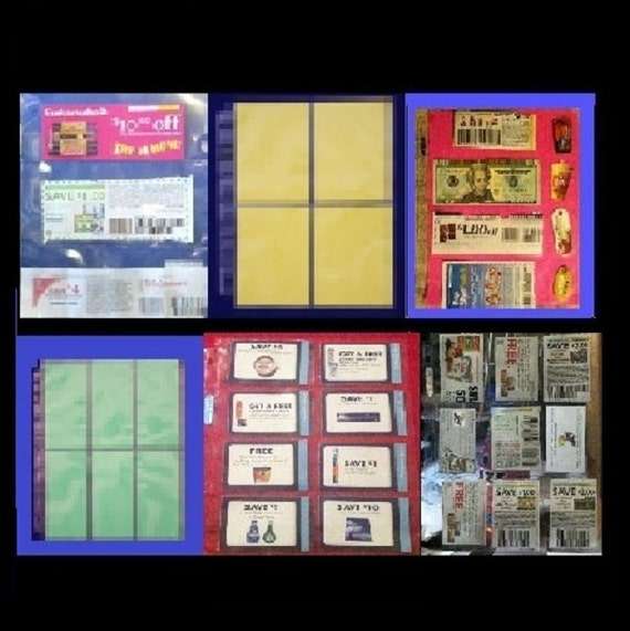60 Extreme Coupon Binder Sleeves Organizing By