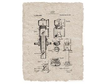 Nautical Periscope Digital Patent Print