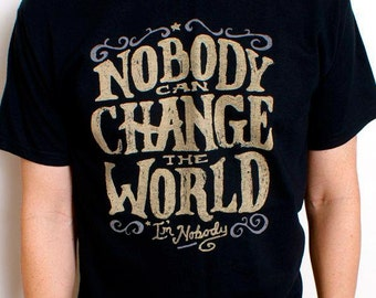 CHANGE THE WORLD  Christian Tee / Guys