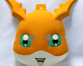 Vintage Digimon Digital Monsters Patamon Halloween Mask pvc Y038