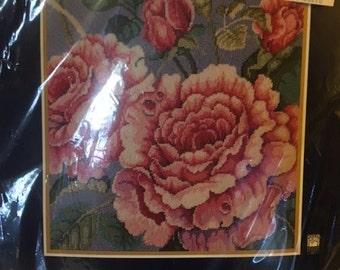 Bucilla Needlepoint Roses