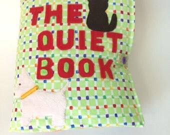 Quiet Book, Activity Book, Toddler Gift Developmental Toy, Montessori inspired