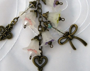 Vintage Inspired Purse Charm