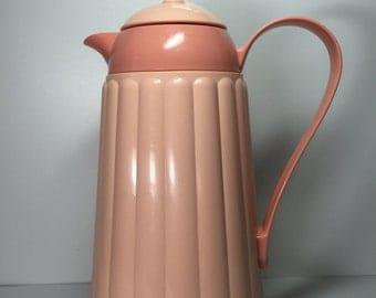 Vintage Crown Corning Thermique Thermos..Retro Coffee Thermos...Country Kitchen Decor..Hot Beverage Server...