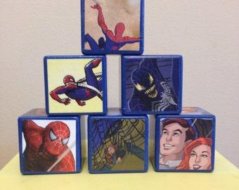 Spiderman storybook blocks - Deluxe