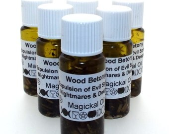 Wood Betony Magickal Herbal Anointing Incense Oil