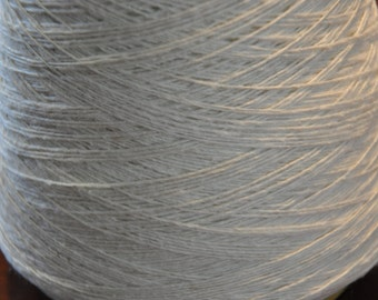 1 spool 1 kg 70% wool 30 silk schappe yarn nature Nm 90/2 on paper cone 22 tex thread