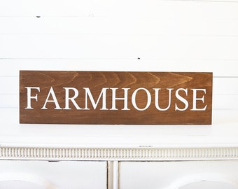 Farmhouse Sign - Farmhouse Decor - Farmhouse Style- Rustic Home Decor - Rustic Signs- Wooden Signs- Farm Decor- Wall Hanging- Kitchen Decor
