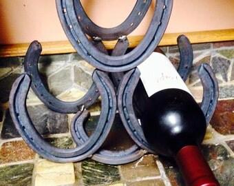 Horseshoe Wine Rack