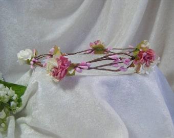 Wedding Bridal Circlet Crown Headband