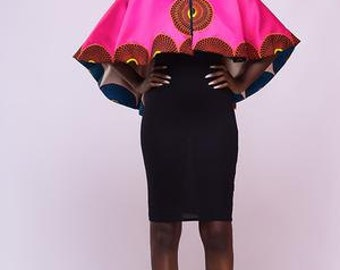 Esta Cape (with beaded detailing)