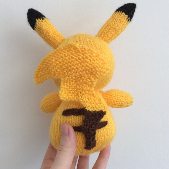 Knitted Pikachu Pattern : pikachu knitting pattern pokemon doll amigurumi pattern pdf download pokemon ...