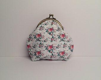 Small purse | coin purse | metal frame purse