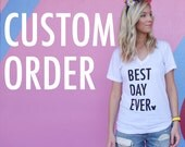 Custom Order for Brandie, January