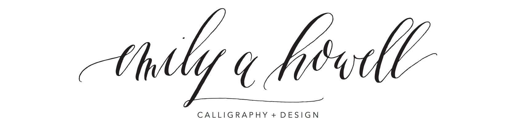 Emily A Howell Calligraphy Design By Emilyahowell On Etsy