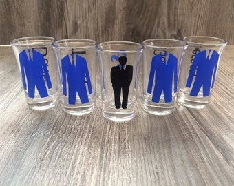 Bachelor Party Shot Glasses, Bachelor Party, Personalized Bachelor Shot Glasses, Gift For Him,
