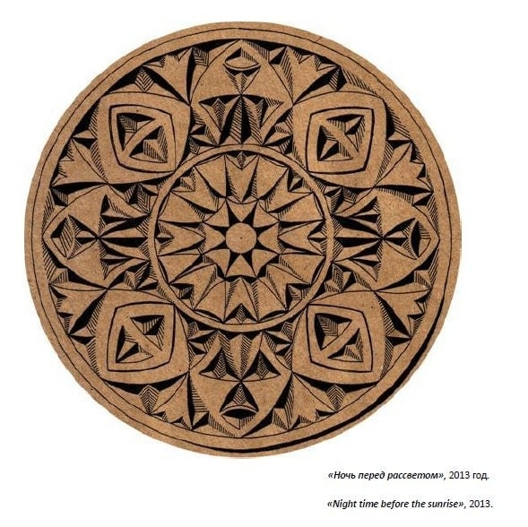 Pdf digital download album with hand drawn chip carving